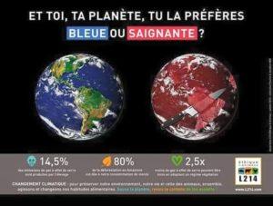 planète bleue ou saignante