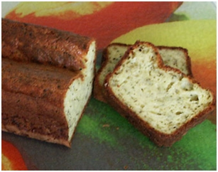 Cake courgettes fromage