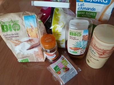 Ingrédients pour nids de Pâques