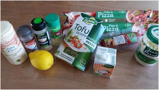 Pizza soleil au chorizo ingrédients