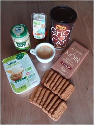 Tiramisu au chocolat et spéculoos ingrédients