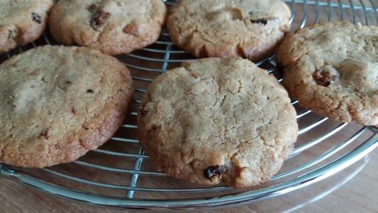Cookies aux figues et à la noisette