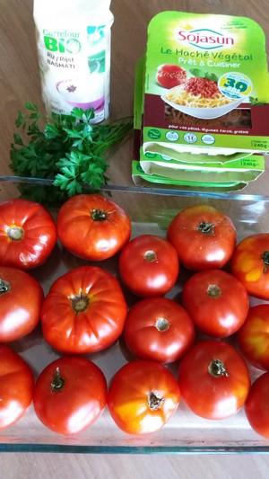Tomates farcies ingrédients