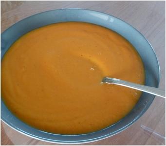 Soupe butternut rôtie