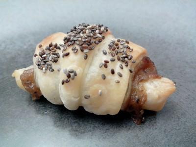 Mini croissants cuits