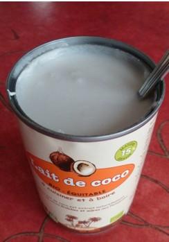 Lait de coco en boite