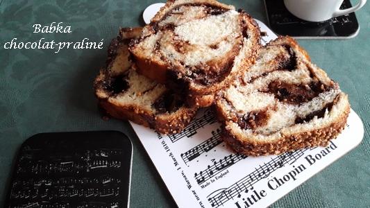 Babka chocolat praliné