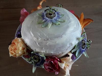Gâteau Victoria à la framboise