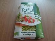 Tofu lactofermenté au pesto